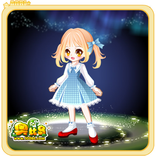 奥比岛童话少女装