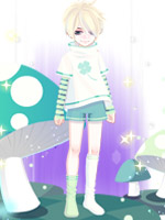 夏日绿菇套装