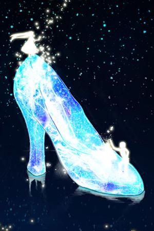 灰姑娘的水晶鞋美梦成真~