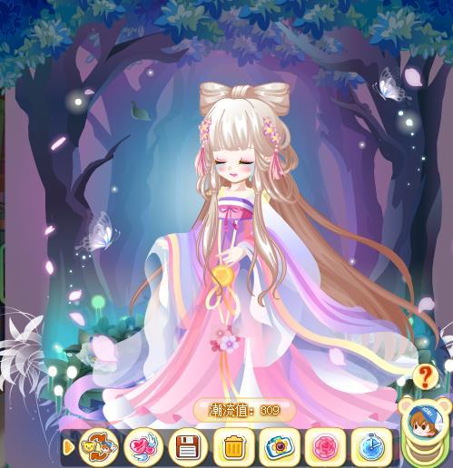 【傲月】魔力裙子搭配_百田奥比岛圈