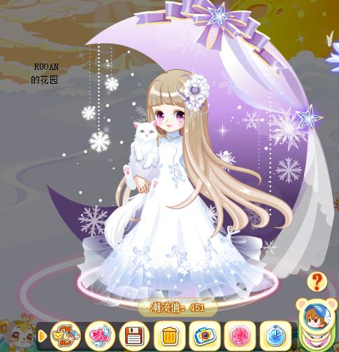 奥比岛公主日记裙子搭配若安教你