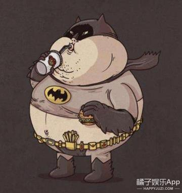 【初殇】卡通人物告诉你,再好看的人物胖了也会变丑!