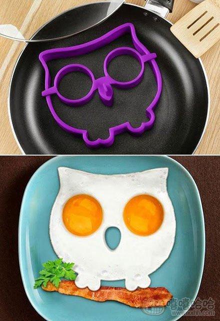 想轻松做出可爱的早餐造型吗?现在有简易办