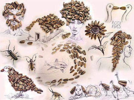 艺术家victornunes令人惊叹的创意铅笔画,日常用品加上简单的画,立马图片