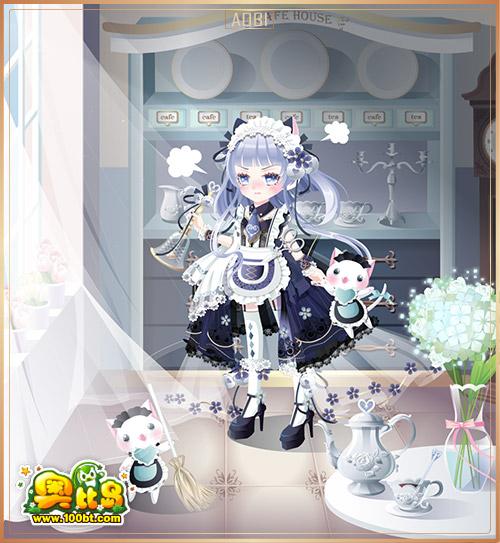 奥比岛希王子傲娇女仆装