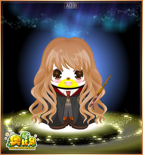 奥比岛月夜小巫师装