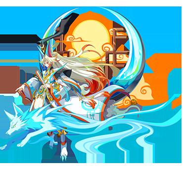清辉月神·灵风