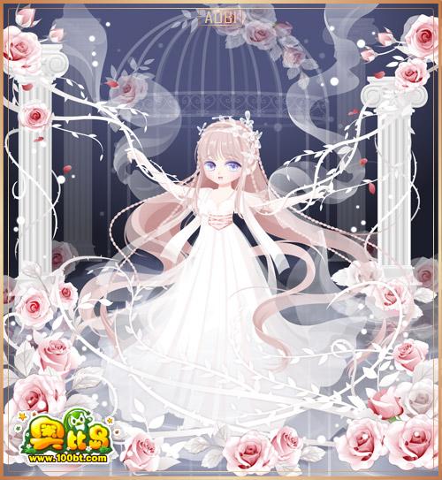 奥比岛梦境小耶嫁纱装