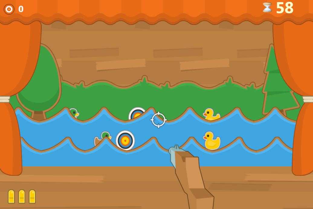 小黄鸭逃离