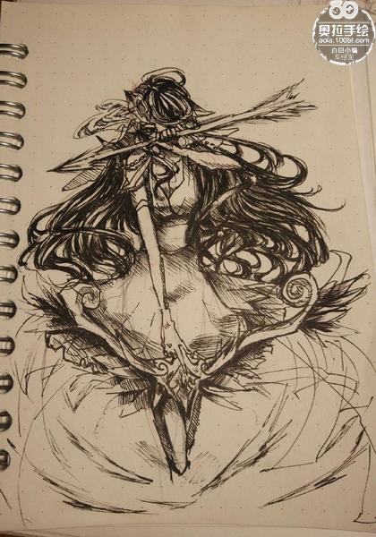 奥拉星手绘 可兰