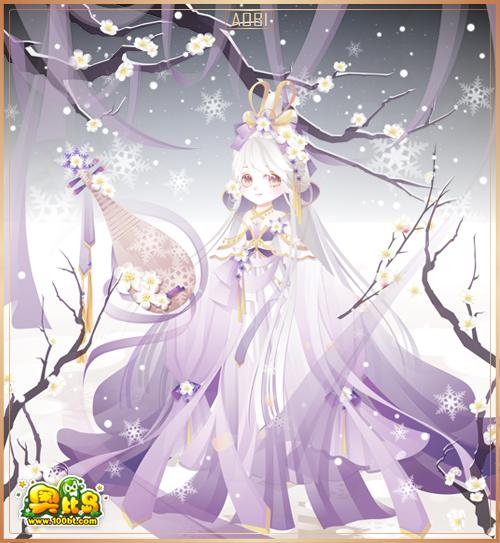 奥比岛霰雪神女装