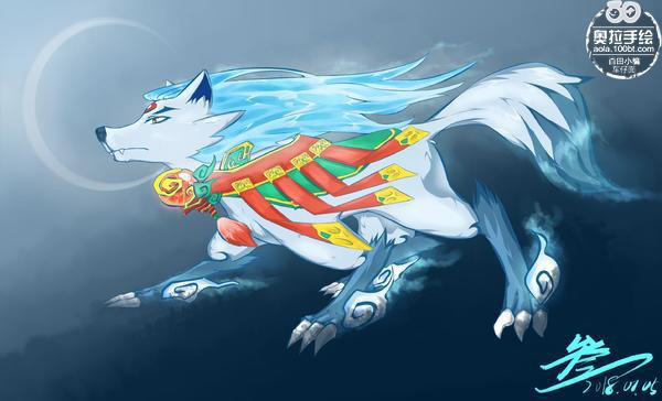 奥拉星板绘 狗年神武月