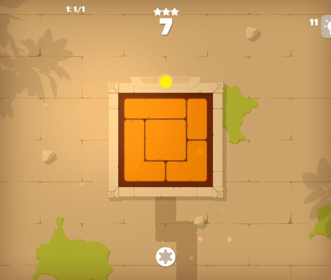 旋转积木拼图
