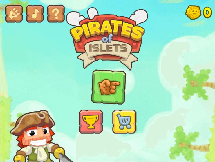 海盗岛屿跳跃