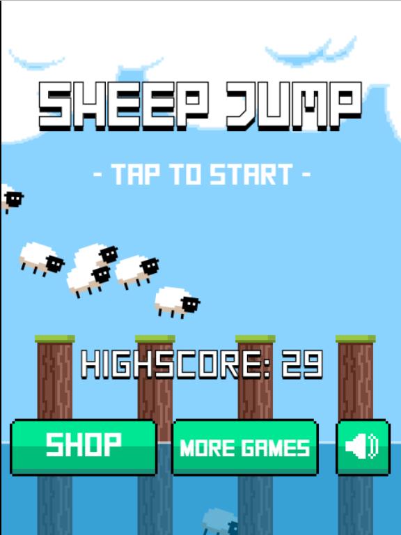 绵羊跳一跳