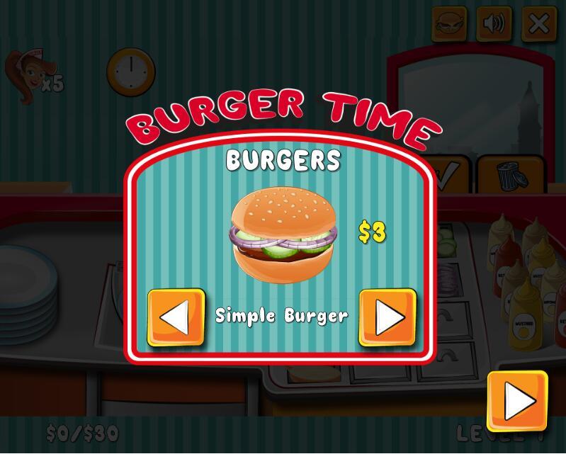 汉堡制作时间