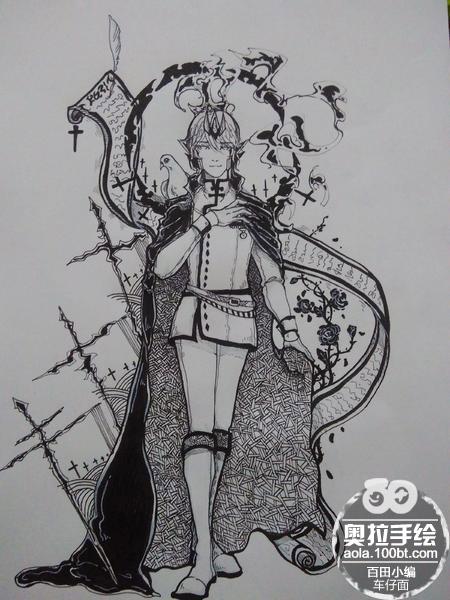 奥拉星手绘 贺菲尔异次元 礼装