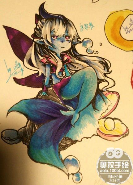奥拉星手绘 乌歌拉