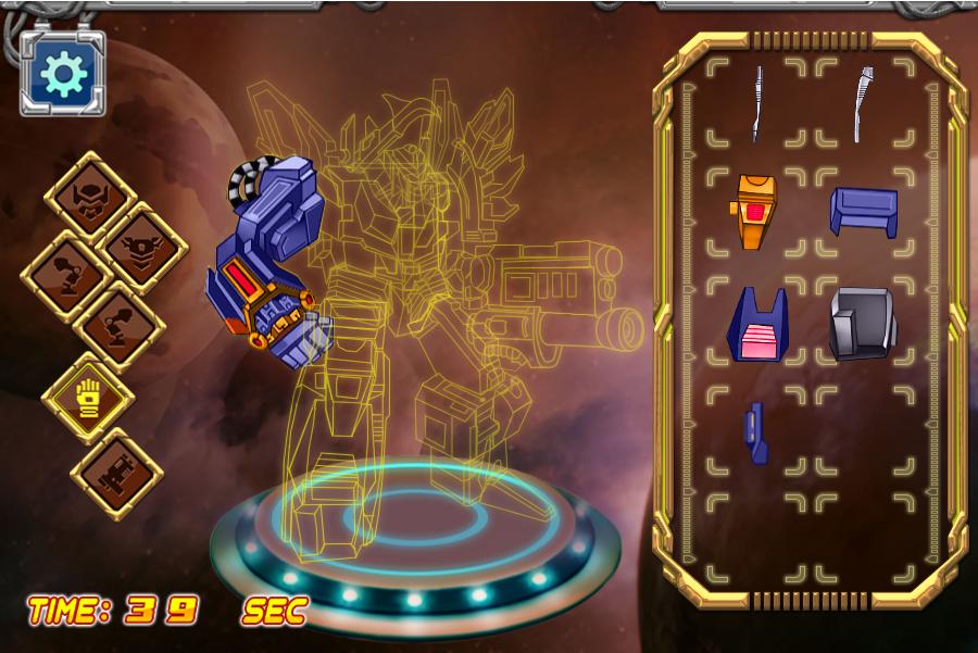组装战斗机器人