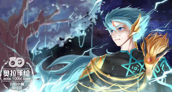 奥拉星手绘 奇灵王