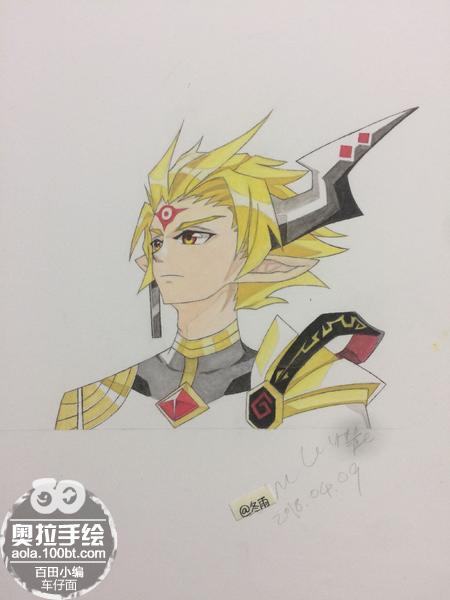 奥拉星手绘 通灵王