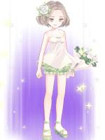 绿茵白蔷套装