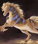 奥拉星斑斓神马