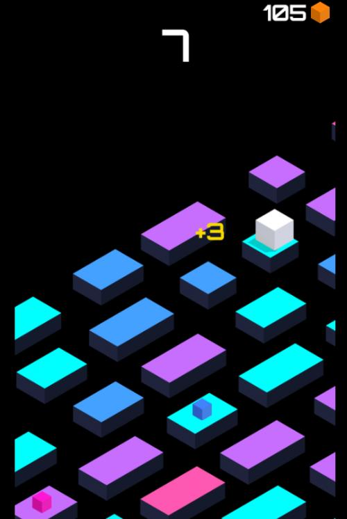 跳跃的立方体
