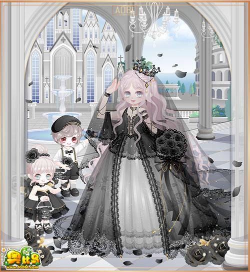 奥比岛意大利新娘套装