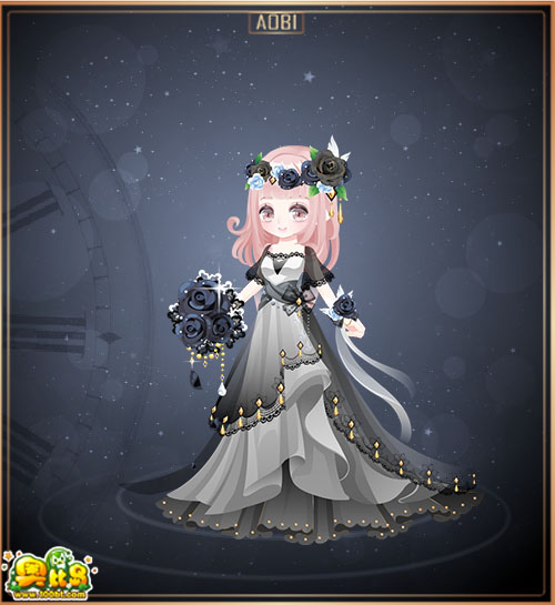 魔力服饰 奥比岛意大利伴娘装图鉴  包含部件 意大利伴娘手腕花