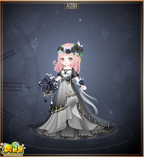 奥比岛意大利伴娘装