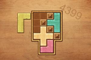 多彩木块解谜