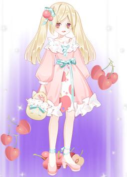 甜甜樱桃少女装