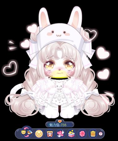 奥比岛时装秀-兔兔的恋爱物语