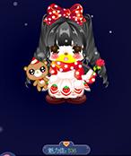 奥比岛时装秀-冬日草莓熊