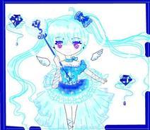 正版.钻石蓝心