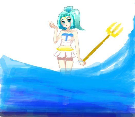 海神。。。。我怎么画的这么难看