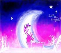 星空上的鹿