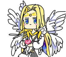 白天使王送了你颗心