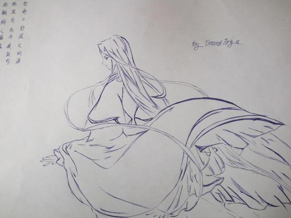 【壹月|畵婷】手绘-画79骨