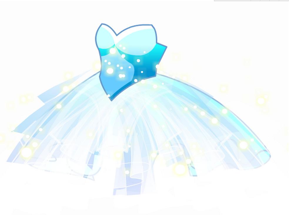 65.小梦蓝水晶裙