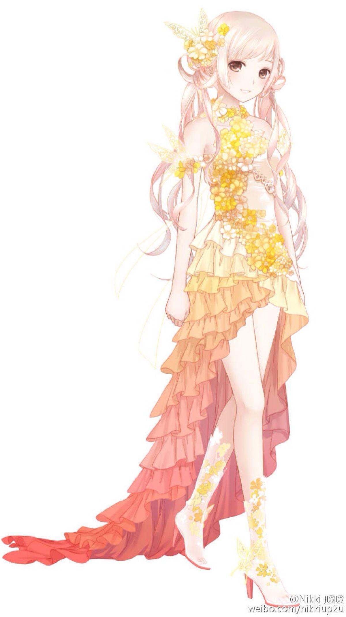暖暖抠图素材裙子