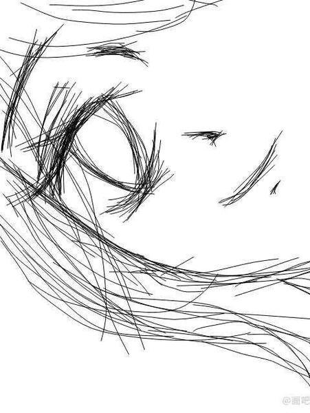 简笔画 手绘 素描 线稿 451_600 竖版 竖屏