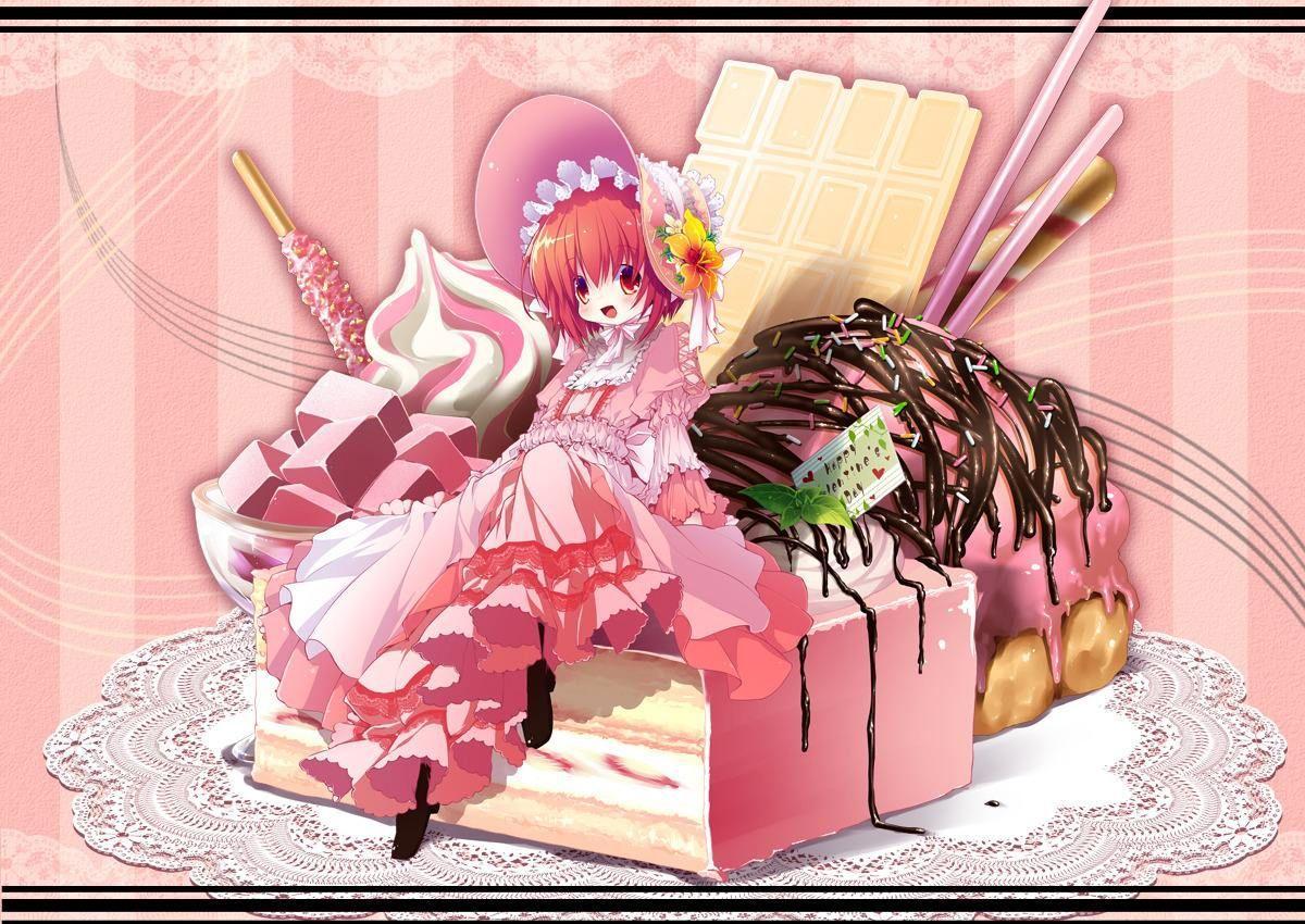 【蓝莓酱】甜点拟人,你能认出几个^_−☆ 回复收起回复 举报1楼