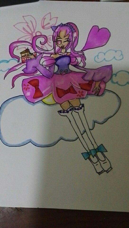 马克笔绘画 萝莉