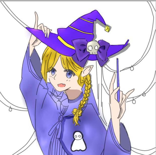 【鼠绘】一只小魔女~_百田奥比岛圈
