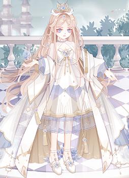 加冕之礼女皇装